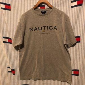 Vintage Nautica short sleeve shirt